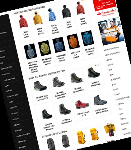 4e41ec4530b118 przykład strony w pełni funkcjonalnego sklepu internetowego z modułem  płatności przelewem oraz systemem ratalnym